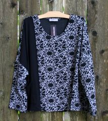 Transparente Flower Mix Top -- LAST ONE