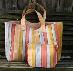 Hand Painted Canvas Tote
