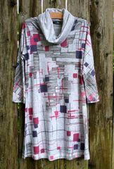 Inoah Cubefield Tunic Dress