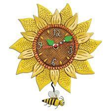 Allen Designs Sunny Bee Clock