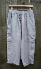 Luukaa Linen Crop Pant -- LAST ONE