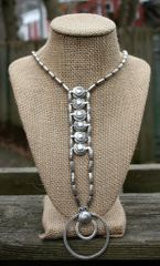 Volare Pewter Duality Necklace