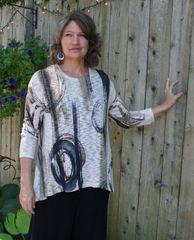 Jess & Jane Canali Sweater Knit Tunic - LAST ONE