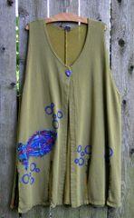Crazy Quilt Fish Vest