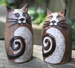 Mountain Gal Cats Salt-n-Pepper Shakers