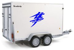 Trailer Kanji Hayabusa Graphics HUGE! Second Gen Kanji (08-Newer)