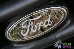 Ford Emblem Overlay Printed Graphic Camo Ford fits 2005-2011 F250-550
