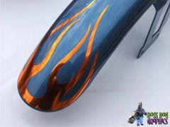 Flame Decal fits Harley Davidson Sportster Front Fender