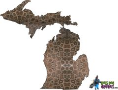 Michigan Petoskey Decal Universal Fit