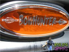 Ford Emblem Overlay Graphic BowHunter Fits 1999-2004 Ford F250-550