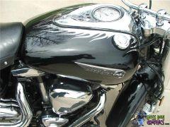 Custom Designed Flame Graphic set fits Yamaha Road Star