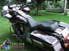 Custom Designed Flame Graphics kit fits Harley Davidson Road Glide