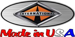 Printed Ford Emblem Overlay Graphic International Harvester fits 1999-2004 F250-550