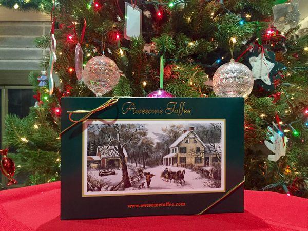 1 lb Christmas Box - Holiday