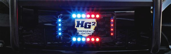 hg2 crossfire license plate light kit emergency equipment