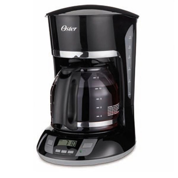 Oster 12 Cup Coffee Maker Permanent Filter Programmable Shams