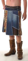 Long Denim Juju Skirt