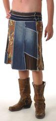 Long Denim Juju Skirt
