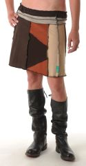 Mid Earth Tones Juju Skirt