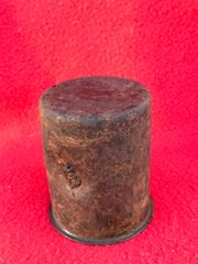 German M24 stick grenade case dated 1943 with paintwork,very nice condition relic recovered from a Lake South of Berlin in the area the 9th Army fought,surrendered in April 1945 in battle of Berlin