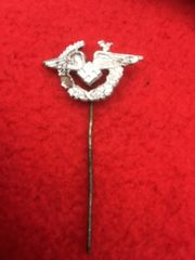 Luftwaffe Female Auxiliary stick pin,relic but nice condition recovered from Berlin 1945 battle in the last days of the Reich