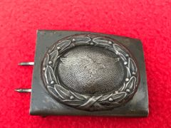 German Luftwaffe soldiers belt buckle semi-relic condition very nicely cleaned found in Denmark from the Occupation of 1940-1945