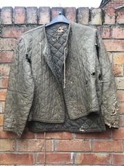 German soldiers winter jacket very rare find from battlefield found in 2017 found in a loft during building work in 2017 in a house in Calais,from coastal defence area