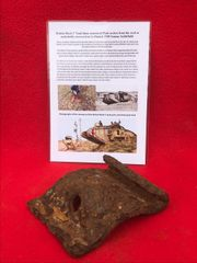 8mm armour plate panel from roof,underbelly recovered from British Mark 5 Tank destroyed during the Battle of Le Hamel on the 4th July 1918,Australian and American offensive on the Somme battlefield