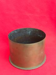 German 15cm schwere howitzer 13 cartridge case which is separated propelling charge,dated October 1916,nice condition found on the Somme battlefield 1916-1918