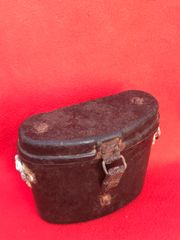 German bakerlite binoculars case,nice condition,maker markings recovered from the Hurtgen Forest 1944 battlefield in Germany
