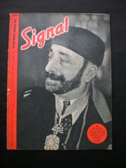 Original German Signal magazine rare to find English language issue number 6 dated March 1943 complete nice condition