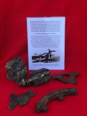 Group of internal engine parts,cogs,electrical parts smashed by the crash from Messerschmitt 109 Staffel Kapitan shot down 15th August 1940 and crashed at Frant in Sussex