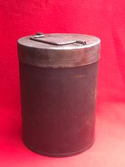 German powder charge container for sonderkart 7 and 8 for SFH 18 15cm gun dated 1944,waffen stamped,very nice condition found in Belgium