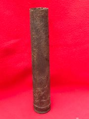 German 3.7cm anti-aircraft gun shell case with some markings recovered from a Lake near hill 69 battle fought on 13th June 1944 in Normandy