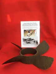 German propeller used on F5B aerial Torpedoes recovered from an old German Bomber base on the Baltic coast in Germany used against Allied shipping from 1940 -1945
