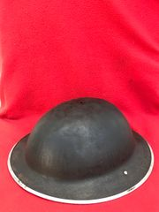 British soldiers 1938 pattern mark 2 brodie helmet very nice condition still with brown paintwork and dated 1939,no liner found in Dunkirk from the famous pocket of 1940