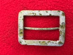 Russian officers belt buckle,nice condition recovered from the Demyansk Pocket Battlefield south of Leningrad in Russia 1941-1942 battlefield