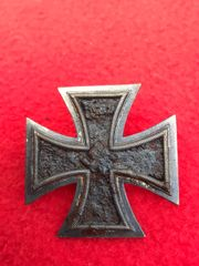 German iron cross 1st class,nice condition relic recovered from Priekule in the Kurland pocket defended by the SS Nordland Division during the battle