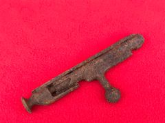 Russian soldiers Mosin Nagant rifle bolt in relic condition recovered from the Seelow Heights 1945 battle of Berlin