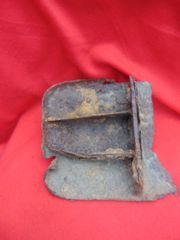 Vehicle brake calliper part from truck,half track,van recovered at Bastogne from the battle of the Bulge in 1944