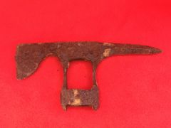 German pioneer soldiers axe head recovered from Hill 304 area March-May 1916 battlefield at Verdun