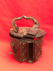 German mg 34/42 machine gun ammunition basket drum very nice condition relic recovered from a Lake South of Berlin in the area the 9th Army fought,surrendered in April 1945
