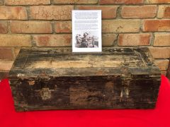 Rare Lake find German wooden Ammunition box for 2cm high explosive Flak anti-aircraft rounds recovered from a Lake South of Berlin in the area the 9th Army fought,surrendered in April 1945