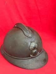 French soldiers Adrian helmet very rare infantry marine,nice condition found on the Somme battlefield 1916-1918