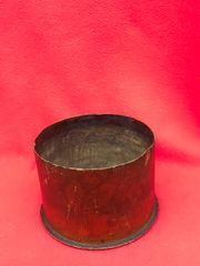 German 15cm schwere howitzer 13 cartridge case which is separated propelling charge,dated December 1916,nice condition trench art flower design found on the Somme battlefield 1916-1918