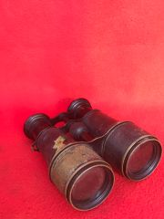 French soldiers army binoculars,maker marked,nice condition found on the Somme battlefield