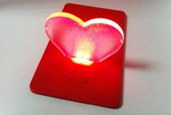 OT006-Card Light (heart)
