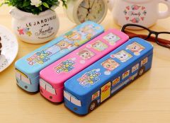 P012-Bus style Pencil box