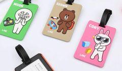 NT007-Cute Line Name Tag