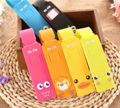 NT010-Cute Animal name tag for Luggage/Backpack